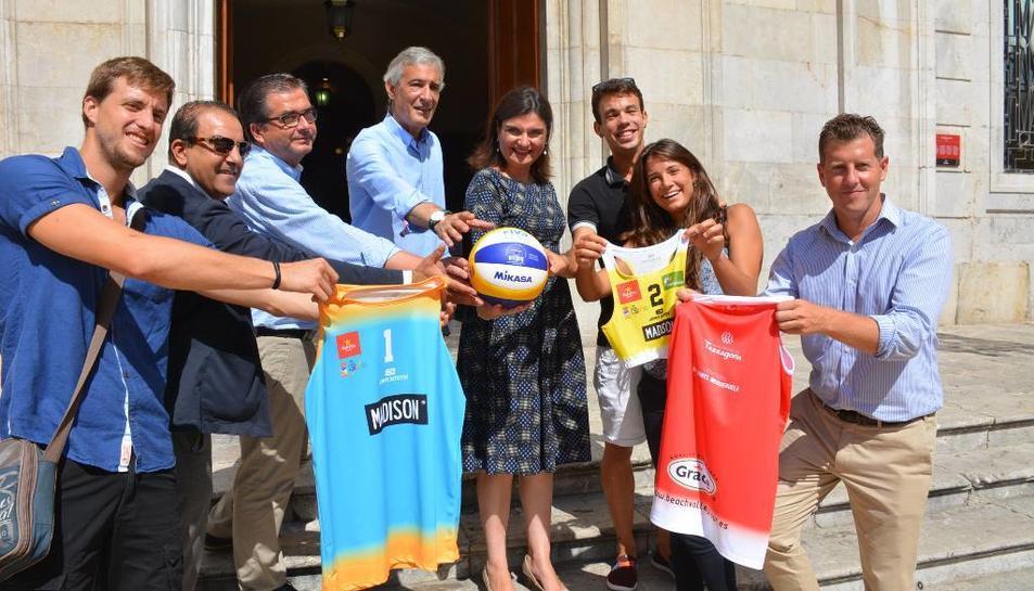 La presentació de la competició s'ha fet aquest divendres a l'Ajuntament de Tarragona.