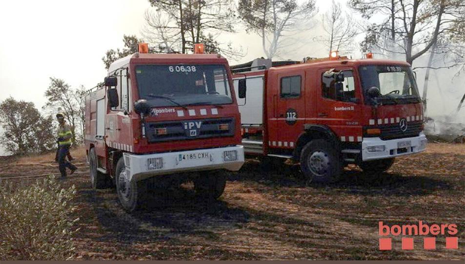 L'incendi ha afectat 4 ha de vegetació agrícola iforestal.