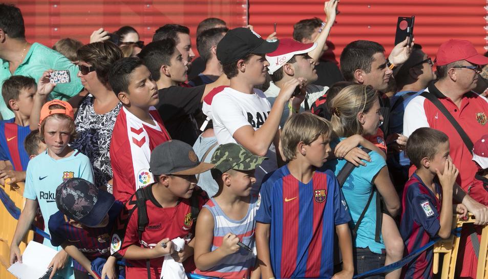 El Nàstic - Barça en imágenes
