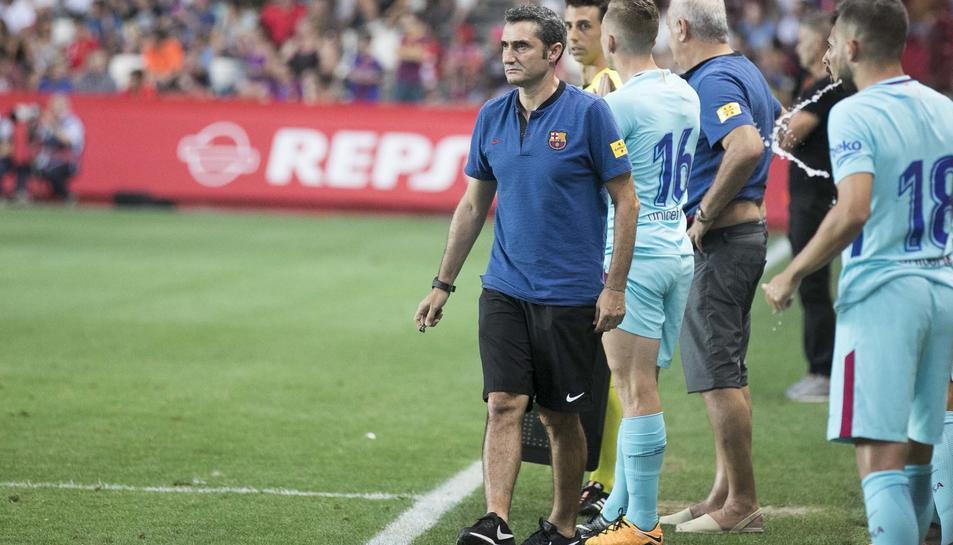 El Nàstic - Barça en imágenes. 01
