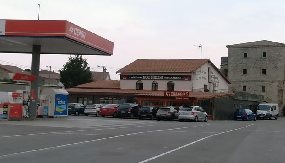 L'exterior del restaurant on es va produïr el 'simpa'