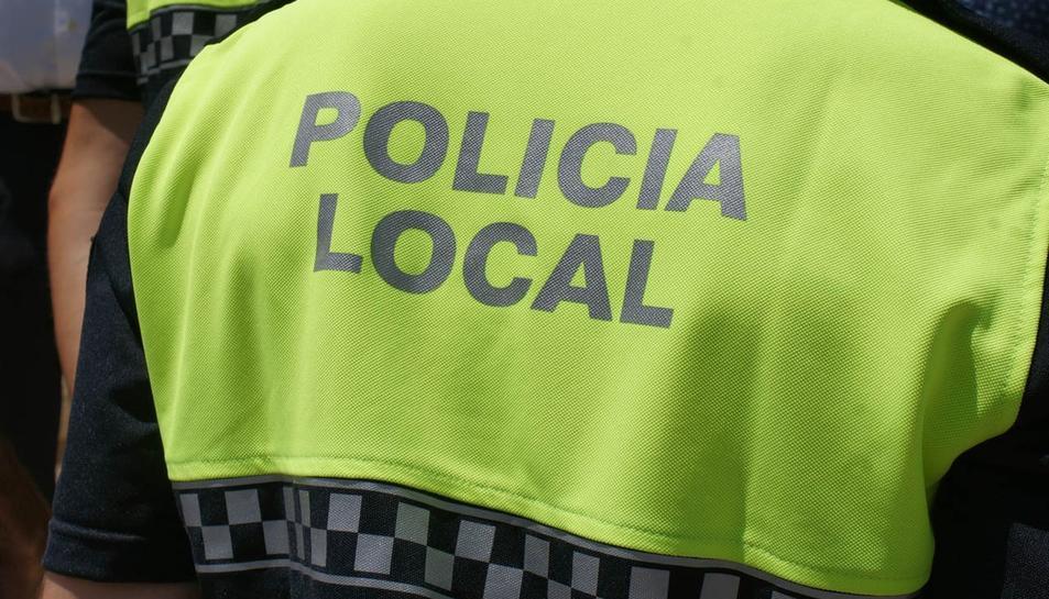 La Policia Local treballa amb els Mossos.