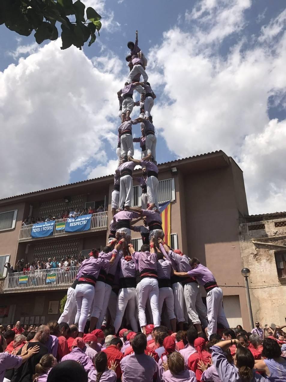4d9f de la Colla Jove dels Xiquets de Tarragona.