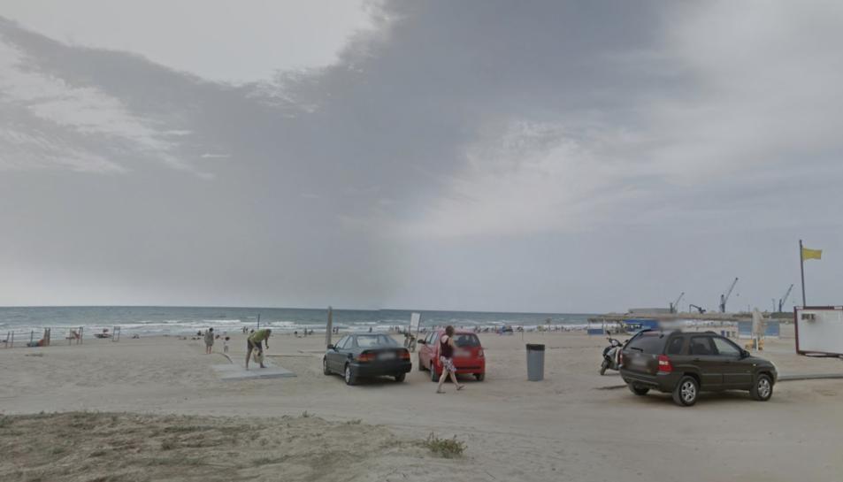Imatge d'arxiu de la platja del Far de Vilanova.