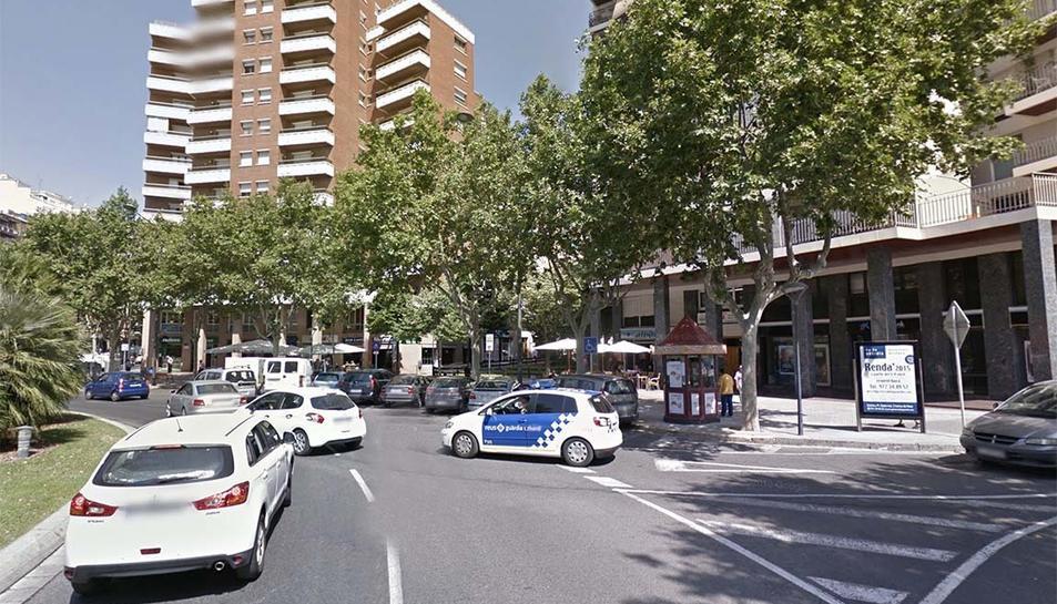 Un dels accidents va tenir lloc a la plaça de la Pastoreta.