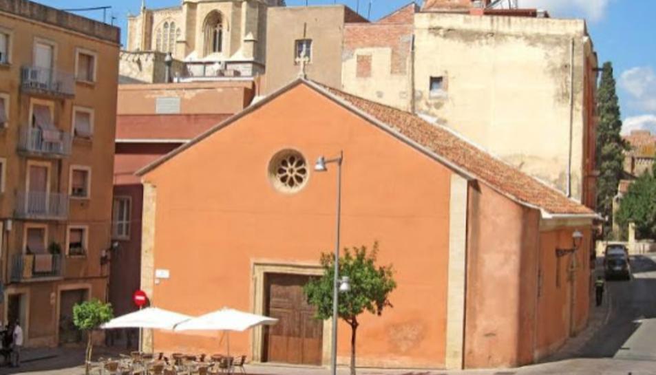 Imatge d'arxiu de l'església de Sant Llorenç de Tarragona, seu del Gremi de Pagesos.