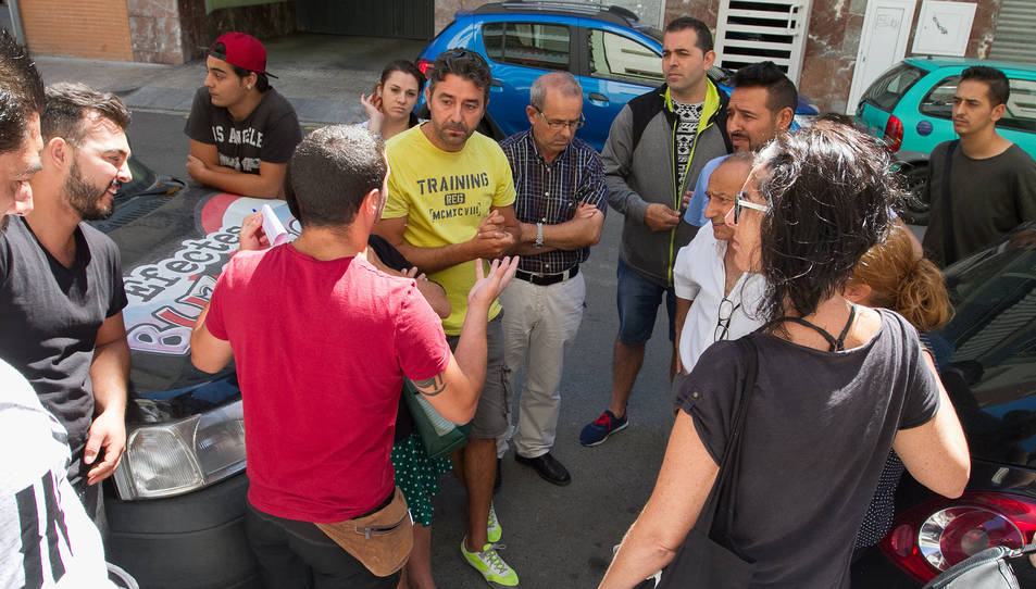 Els cupaires van comparèixer ahir a Horts de Miró per anunciar una nova via sobre el conflicte.