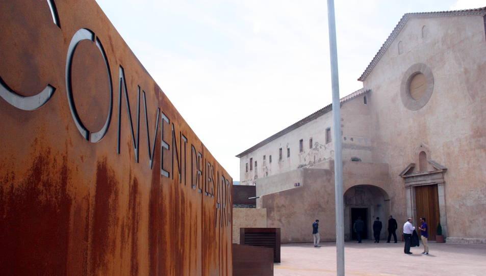 L'espai d'Alcover, batejat com el 'convent de les Arts', pretén ser un equipament cultural de referència al territori.