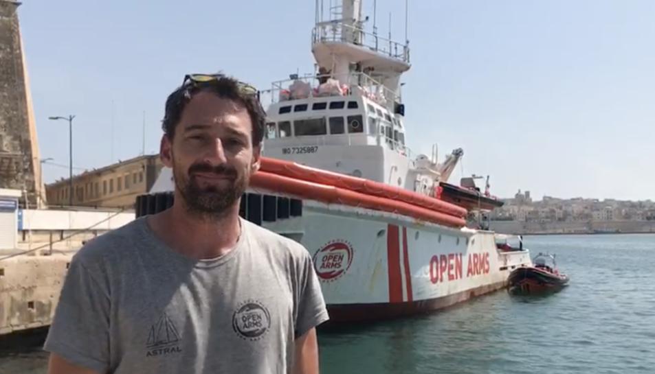 Guillermo Cañardo, des de Malta, anima a participar en la prova que es farà a Prades.
