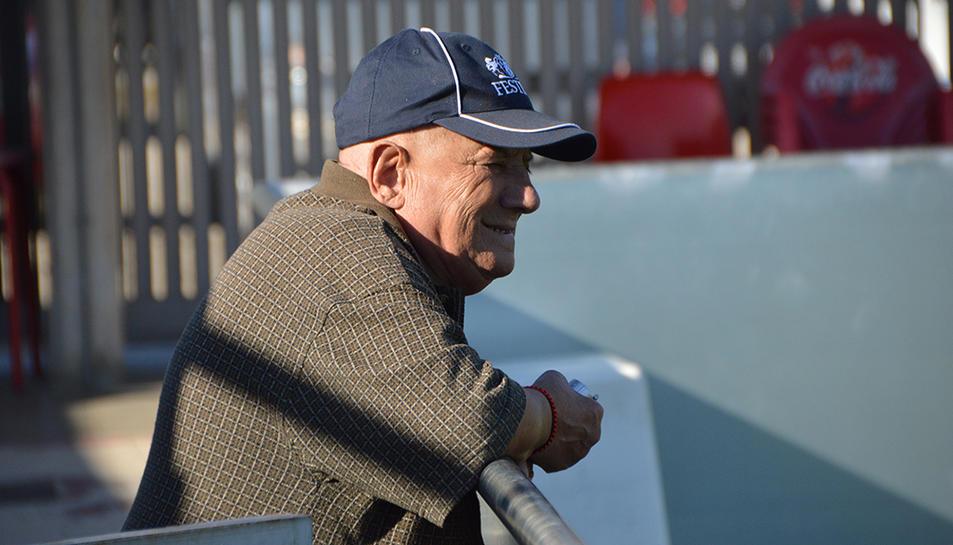 Josep Maria Grangé ha estat encarregat del material i delegat de camp durant 30 anys.