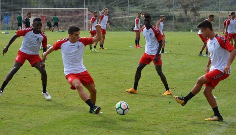El Nàstic a cedit CArrión al Linense, un equip de Segona B.