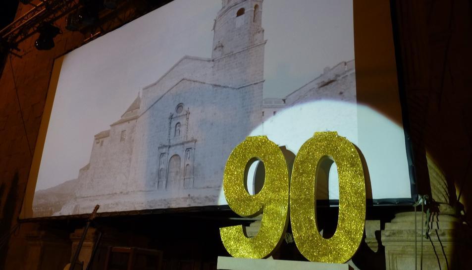 La plaça Baranova celebra els seus 90 anys d'història.