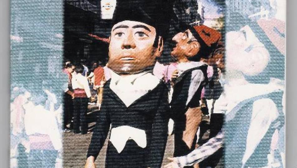 Portada del llibre sobre les festes del carrer Merceria.