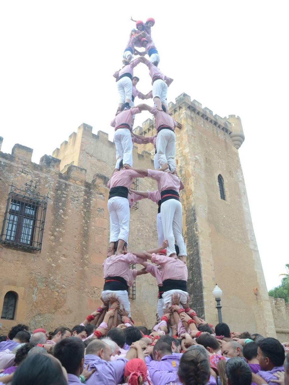 4de8 dels Xiquets de Tarragona a Ferran.
