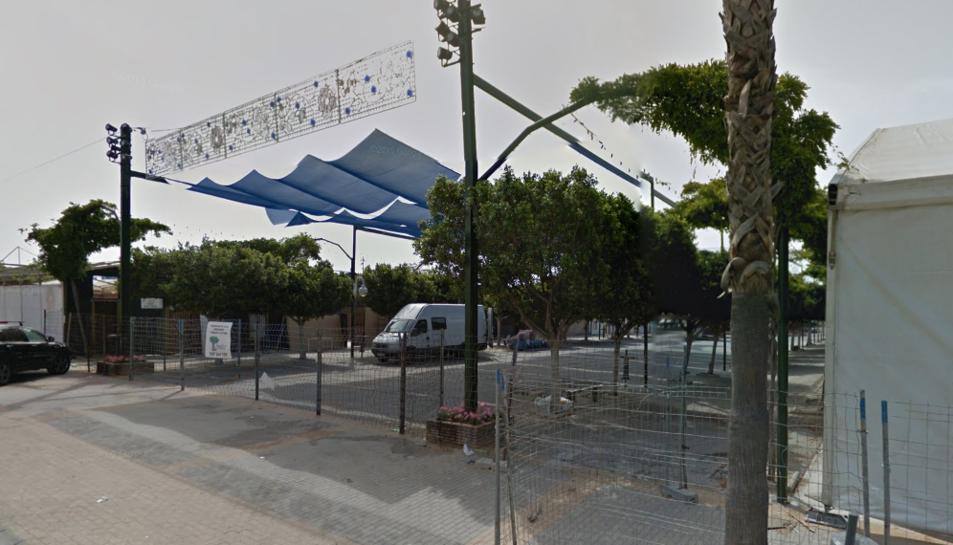 Imatge del carrer on va tenir lloc el succés.