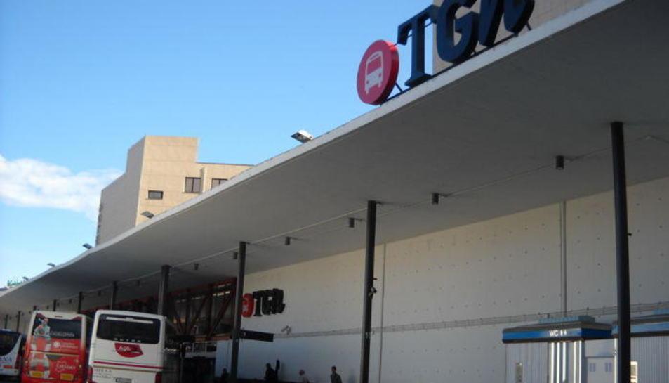 Imatge d'arxiu de l'estació d'autobusos de Tarragona.
