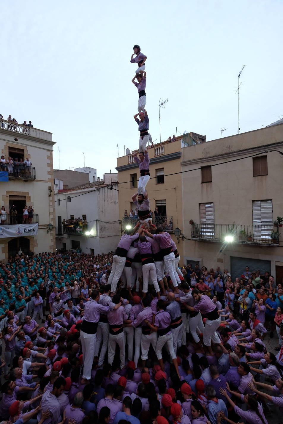 Pilar de 8fm de la Colla Jove Xiquets de Tarragona al Catllar