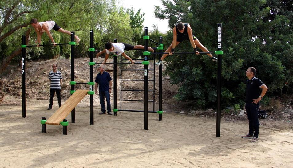 A Altafulla hi ha prop d'usuaris d'aquesta pràctica d'entrenament físic.