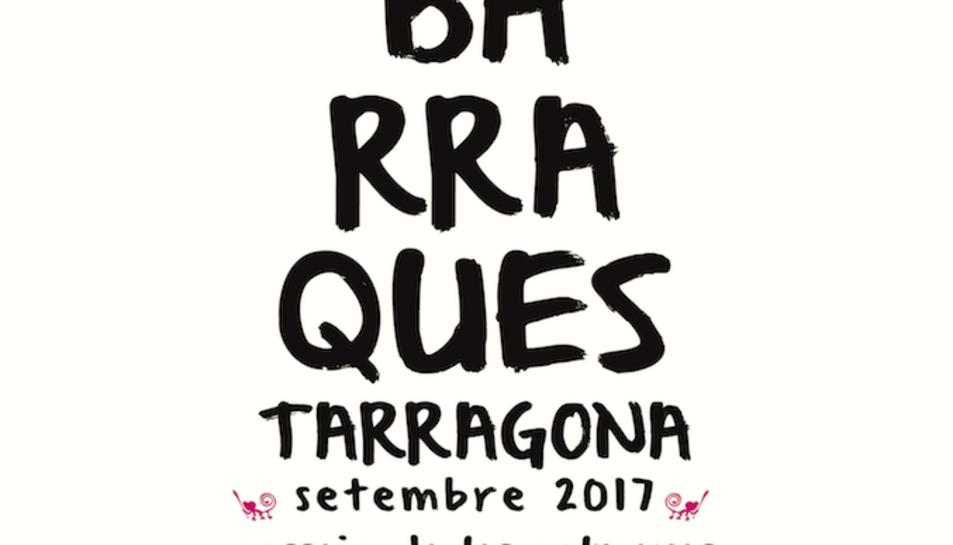 El nou cartell de Barraques de Tarragona per les festes de Santa Tecla 2017.