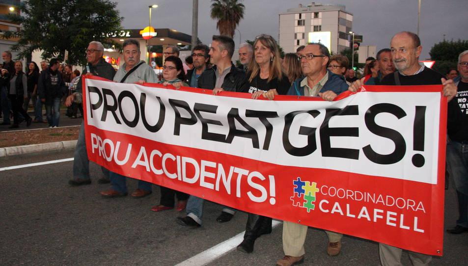 Una de les manifestacions de protesta dutes a terme el 2016.