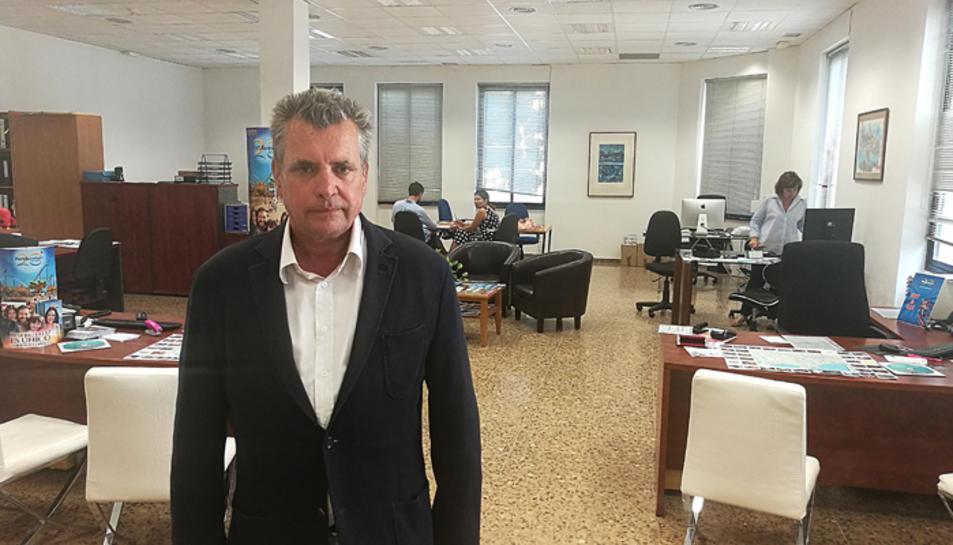 Iñigo Rosell, president de la Tarragona Associació d'Apartaments Turístics i Hostels.