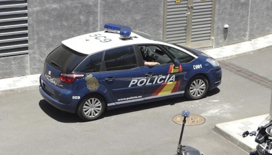 La Policia Nacional va trobar el vehicle de la parella en un carrer de la capital.