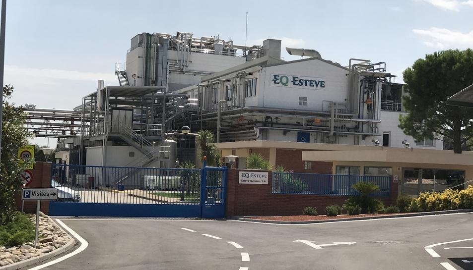 La planta d'EQ esteve situada a Banyeres del Penedès.
