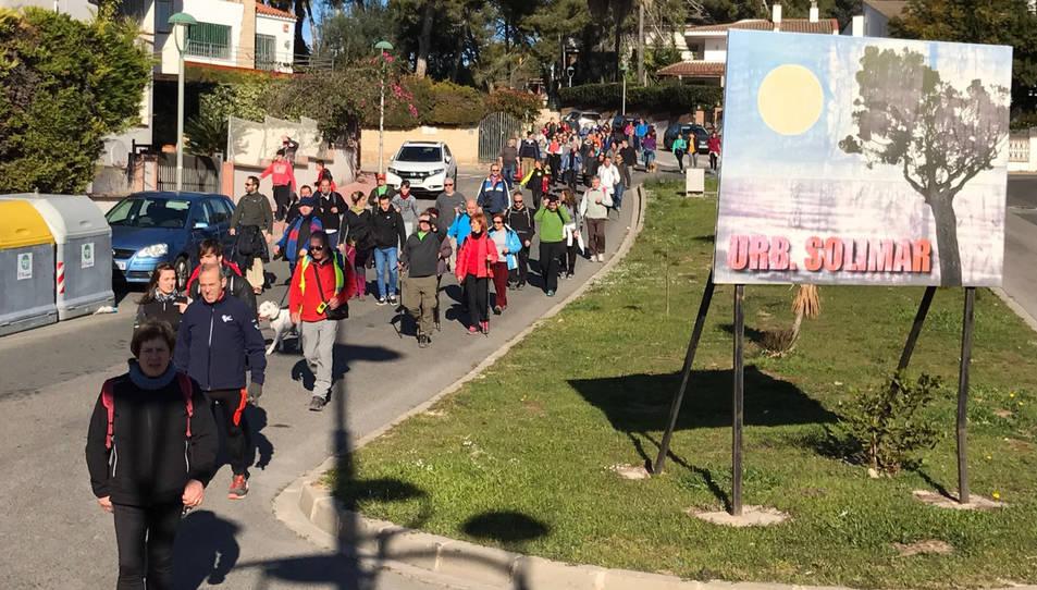 Un nodrit grup de persones ja va protagonitzar una caminada reivindicativa el passat 15 de gener.