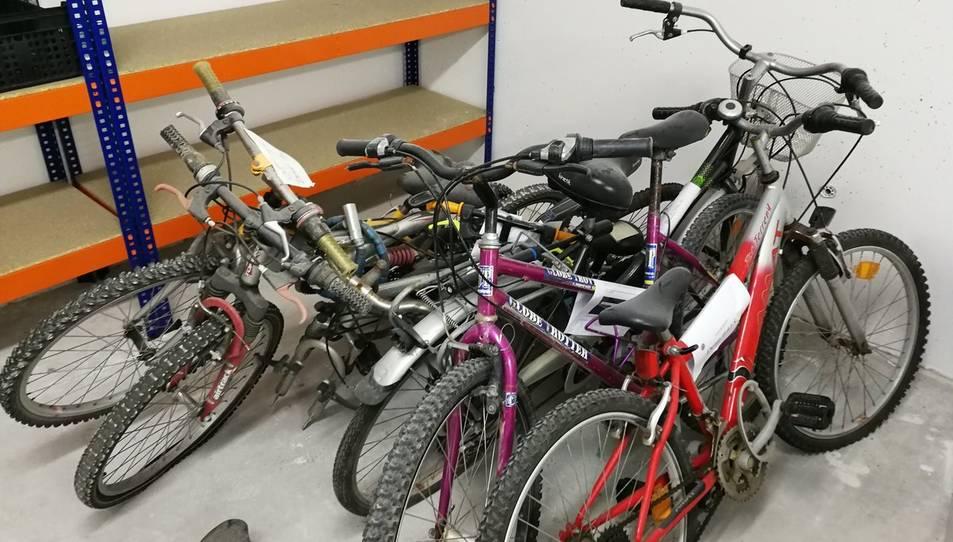 La Policia ha fet públiques imatges de les bicicletes localitzades.