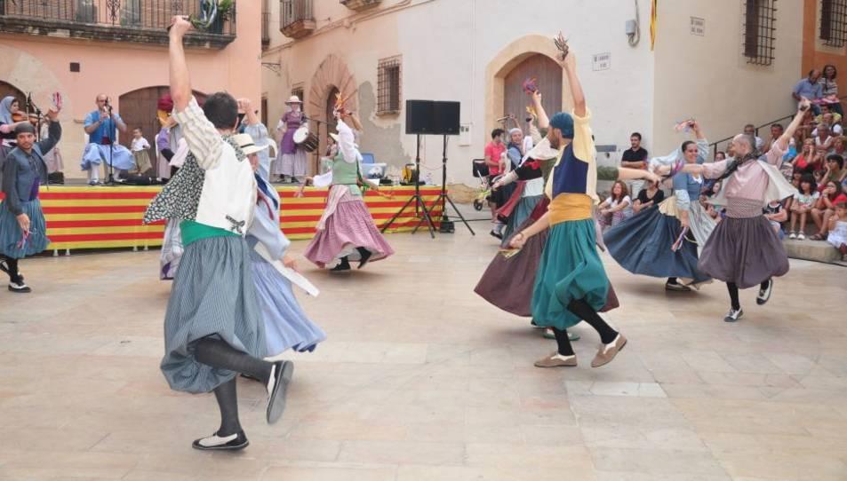 Imatge d'arxiu d'una passada edició de la Festa Major Petita d'Altafulla.
