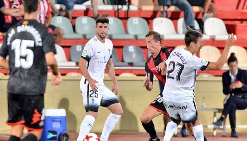 Calavera, contra el CF Reus