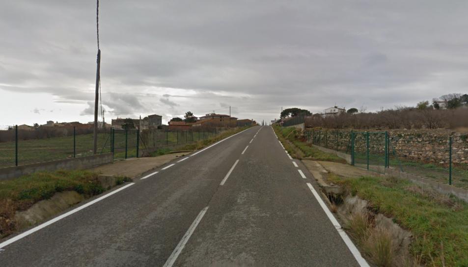 L'accident de trànsit ha estat al quilòmetre 11 de la carretera TP-7013.