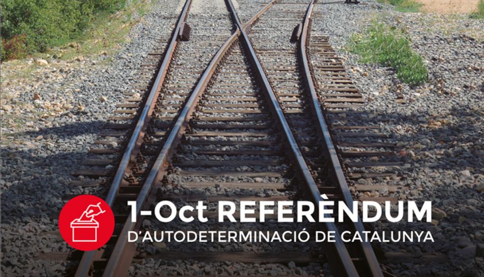 Imatge promocional de la campanya pel referèndum.