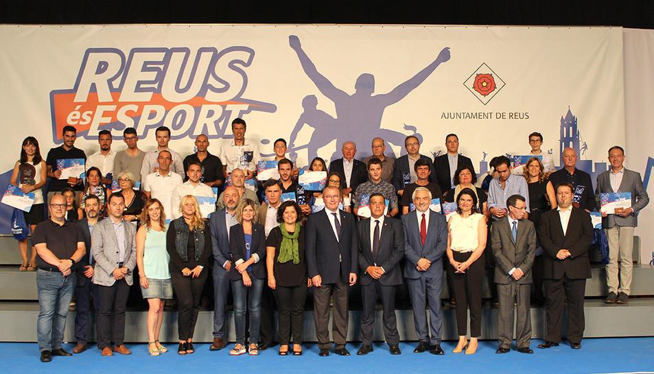 Reus lliura els guardons dels premis esport i ciutat 2017 - Pavello olimpic reus ...