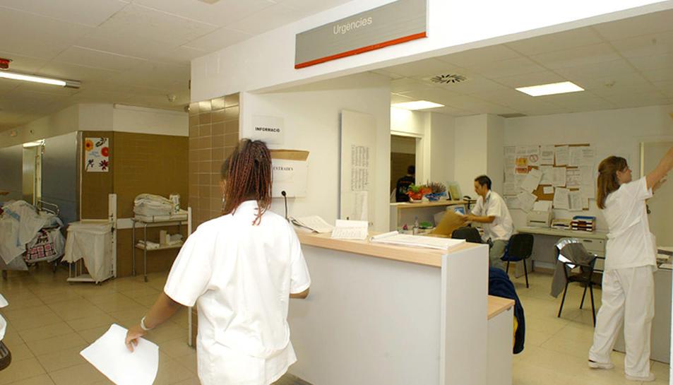 Imatge d'arxiu d'un servei d'Urgències hospitalari.