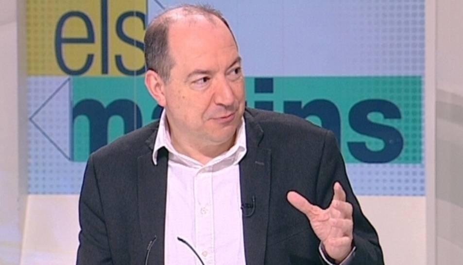 El director de TV3, Vicent Sanchis, en una imatge d'arxiu.