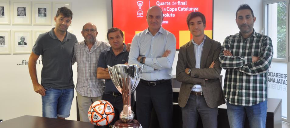 El sorteig s'ha realitzat a la seu de la Federació Catalana de Futbol.