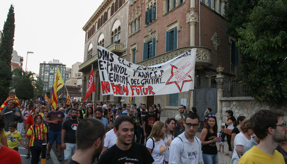 Manifestació independentista del Camp de l'11 de setembre