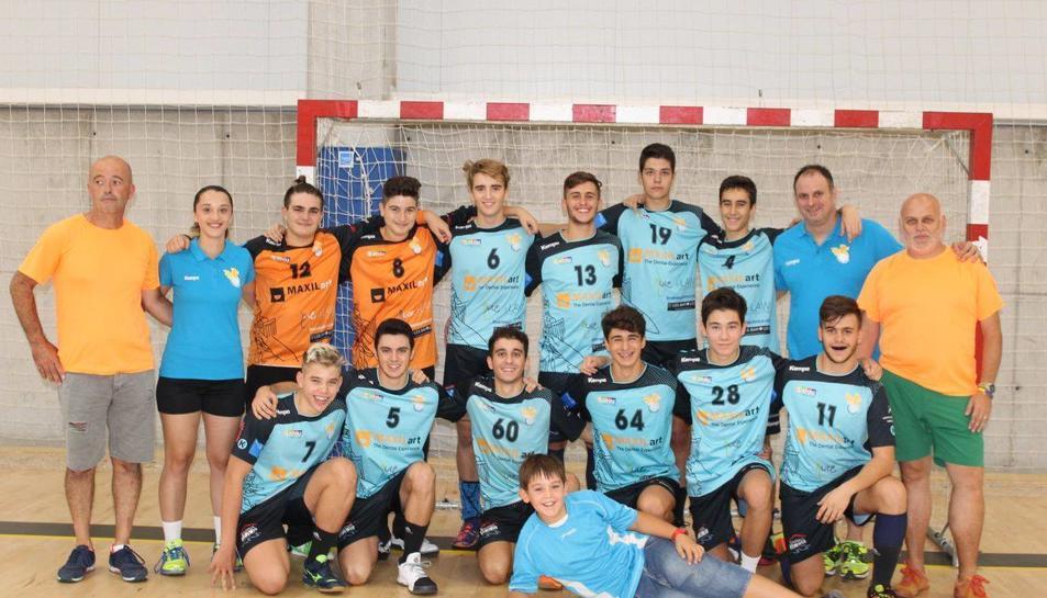 Els jugadors de l'equip.