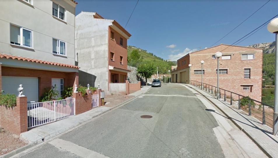 Els fets han tingut lloc al carrer Santa Marina.