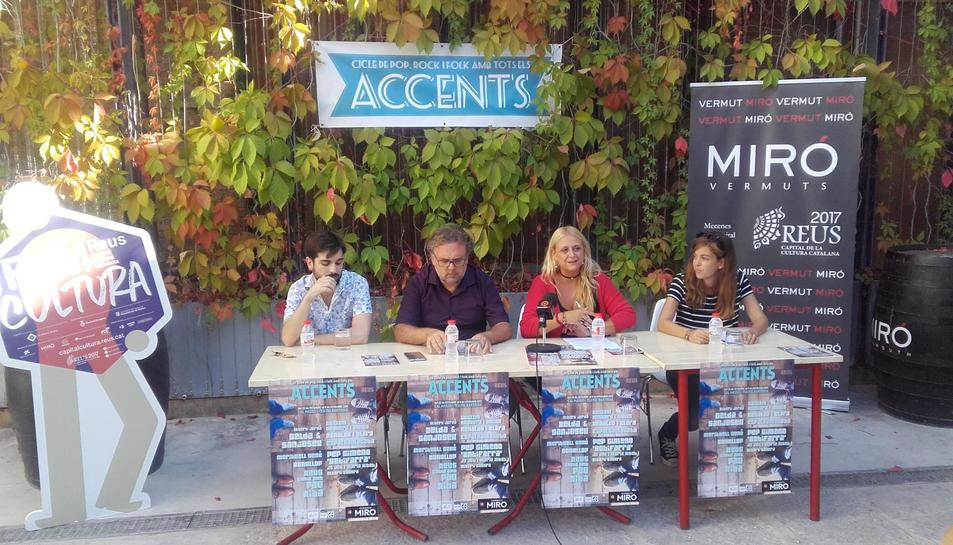 Aquest dijous s'ha presentat la nova edició del festival Accents.