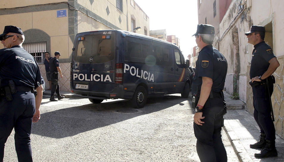 Imatge d'arxiu d'agents de la Policía Nacional.