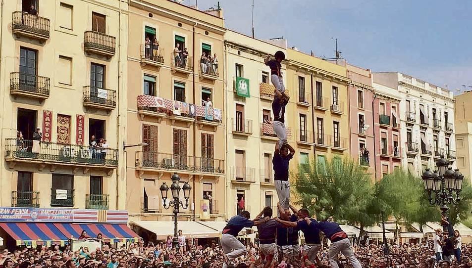 Tarragona podria batre tots els rècords castellers aquestes festes de Santa Tecla