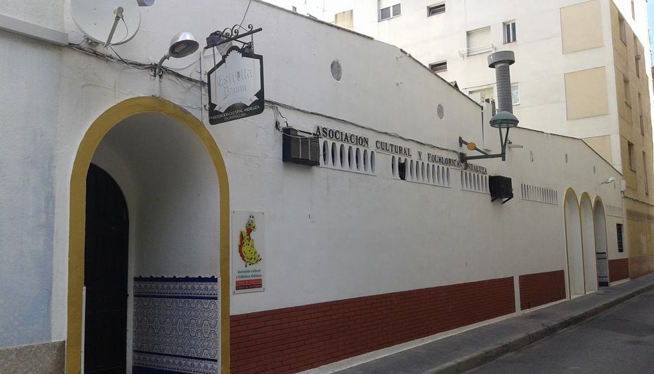 Seu de l'Asociación Cultural y Folklórica Andaluza, una de les entitats amb dret a subvenció.