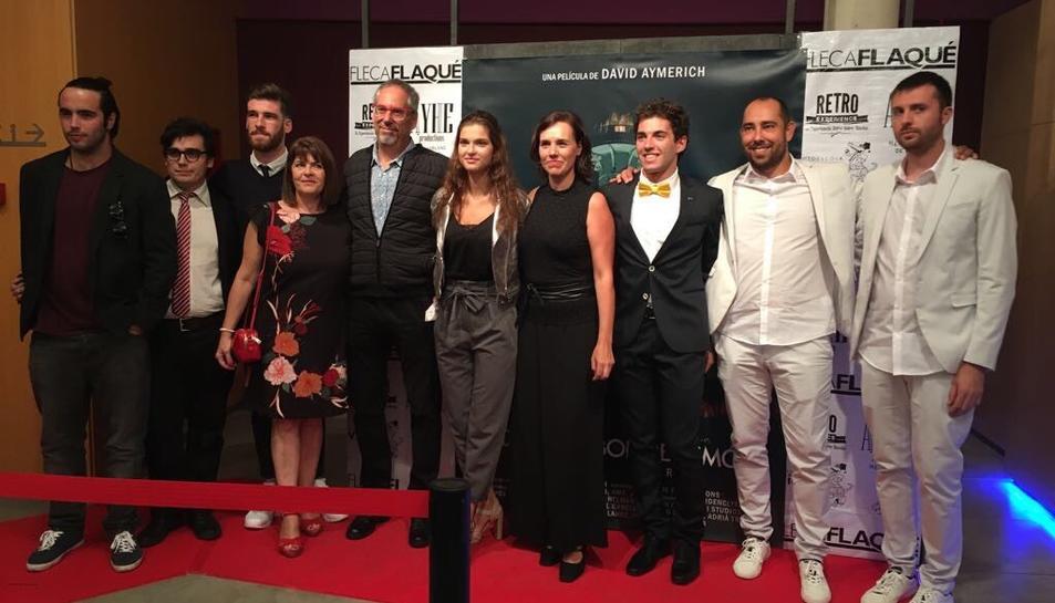 El Teatre Tarragona era aquest diumenge ple per contemplar l'estrena de la pel·lícula.