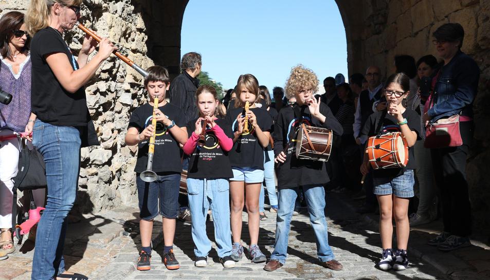 La desfilada dels petits músics
