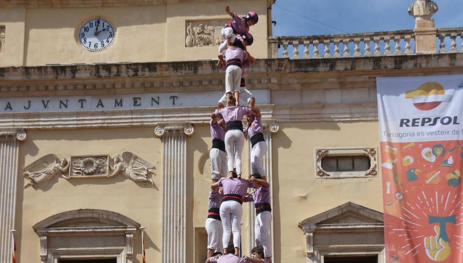 3de10fm de la Colla Jove Xiquets de Tarragona a la diada de Santa Tecla - El Primer Diumenge.