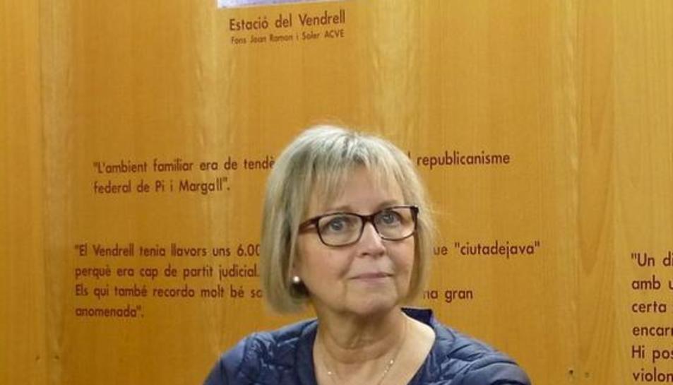 Imatge d'arxiu de la primera tinent d'alcalde del Vendrell, Eva Serramià.
