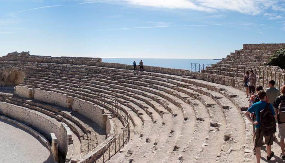 L'amfiteatre és un dels elements que han estat fotografiats per l'exposició.