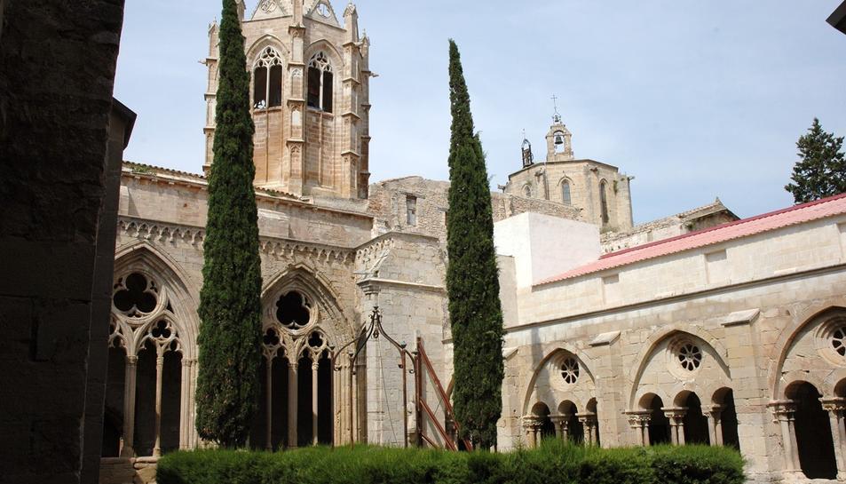 Imatge del Monestir Cistercenc de Vallbona de les Monges.